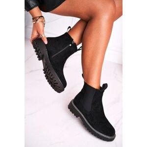 Women's Jodhpur Boots Black Resist