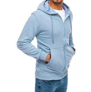 Men's blue sweatshirt Dstreet BX5089