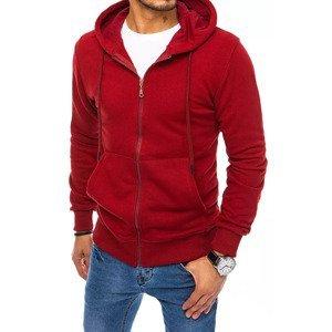 Men's maroon sweatshirt Dstreet BX5090