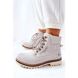Women's Timber Trappers With Insulation Light Grey Tiempo