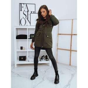BARRI women's parka jacket, dark green Dstreet TY1961