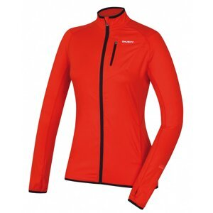 Women's zip sweatshirt Tarp zip L sv. brick