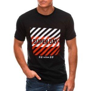 Edoti Men's printed t-shirt S1492