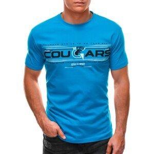 Edoti Men's printed t-shirt S1493