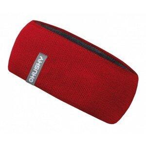 Women's merino headband Merband 2 red
