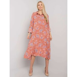 Brick dress for women with prints