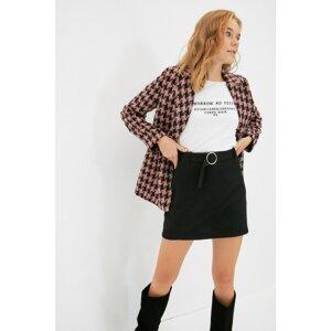 Trendyol Black Belted Skirt