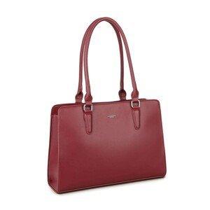 LUIGISANTO Maroon shoulder bag