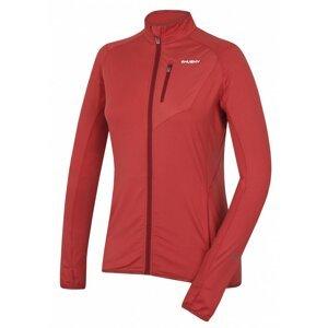 Women's zip hoodie Tarp zip L dark. burgundy