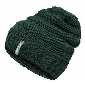 Women's merino hat Merhat 5 tm. green