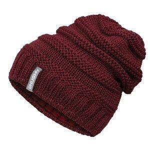 Women's merino hat Merhat 5 tm. burgundy