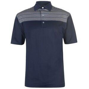 Footjoy Chest Stripe Polo Shirt Mens