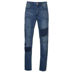 D555 Newport Rips and Repairs Biker Jeans Mens