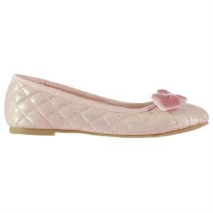 Miso Quilted Child Girls Ballet Shoes