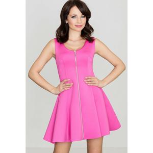 Lenitif Woman's Dress K255 Fuchsia