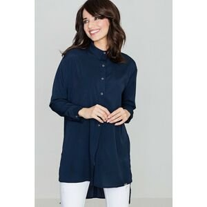 Lenitif Woman's Shirt K293 Navy Blue