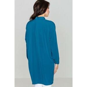 Lenitif Woman's Shirt K293 Ocean