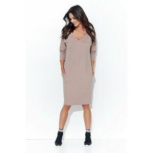 Numinou Woman's Dress Nu104 Cappuccino