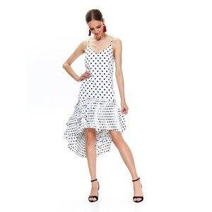 Top Secret dlhé dámske bodkované šaty