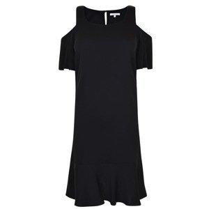 PATRIZIA PEPE Mini Ruffle Hem Dress