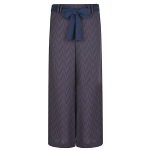 PATRIZIA PEPE Loose Fit High Waisted Print Trousers