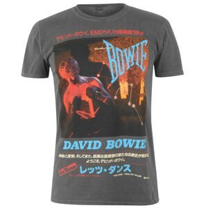Official Vintage Band T-Shirt David Bowie