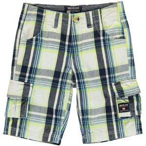 SoulCal Checked Cargo Shorts Junior Boys
