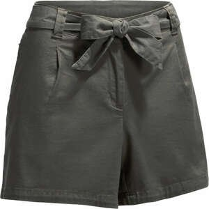 QUECHUA Dámske šortky Nh500 Sivé