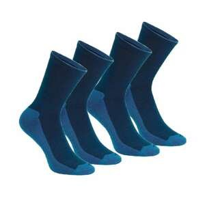 QUECHUA Vysoké Ponožky Nh100 2 Páry