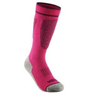 WEDZE Detské Lyžiarske Ponožky 100