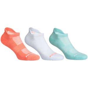 ARTENGO Ponožky Rs 500 Lowedge 3 Páry