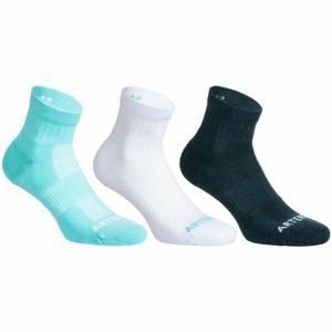 ARTENGO Ponožky Rs 500 Mid 3 Páry