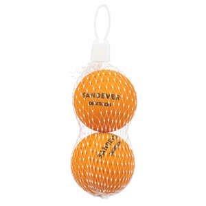 SANDEVER Loptičky Btb 100 Oranžové 2 Ks