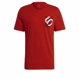 Tričko FiveTen Botb Tee Red L