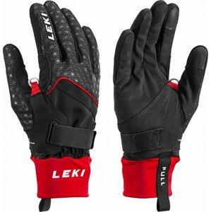 Leki Nordic Circuit Shark - čierna Veľkosť rukavíc: 9.5