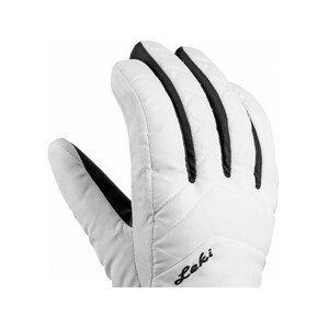 Leki Sveio GTX Lady - biela / čierna Veľkosť rukavíc: 7.5