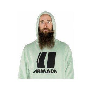 Armada Icon Hoodie - zelená :