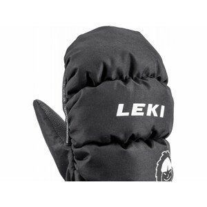 Leki Little Eskimo Mitt Short - čierna Veľkosť rukavíc: 5.0