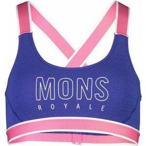 Mons Royale Stella X-Back Bra - ultra blue :