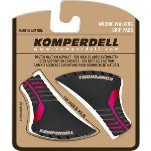 Komperdell topánočky na palice Nordic Walking - červená