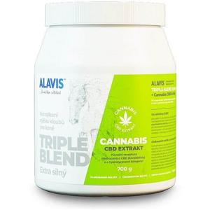 Alavis TRIPLE BLEND Extra silný Cannabis Extrakt 700 g
