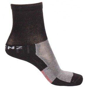 Trekking Kids 1.0 dětské ponožky černá Velikost (obuv): EU 27-30