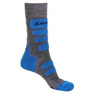 X Country 2.0 lyžařské ponožky šedá-modrá Velikost (obuv): EU 42-44
