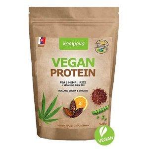 Vegan Protein 525 g Příchuť: čokoláda-pomeranč