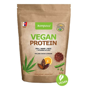 Vegan Protein 525 g příchuť: čokoláda-skořice