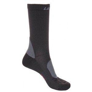 Trekking 2.0 outdoorové ponožky černá Velikost (obuv): EU 45-47