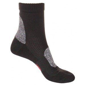 Trekking 2.1 outdoorové ponožky černá Velikost (obuv): EU 39-41