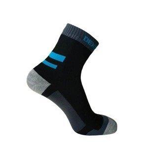 Nepromokavé ponožky DexShell Running Farba Aqua Blue, Veľkosť XL
