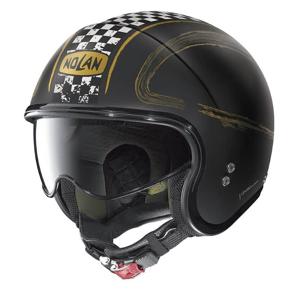 Moto prilba Nolan N21 Getaway Farba Flat Black-Gold, Veľkosť L (59-60)