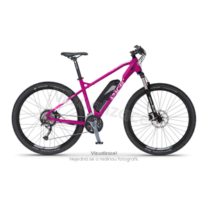 "Elektrokolo MTB 27,5"" Apache Yamka E4 ruby purple, 16"""
